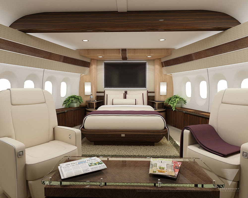 Forget business class, take a private plane instead